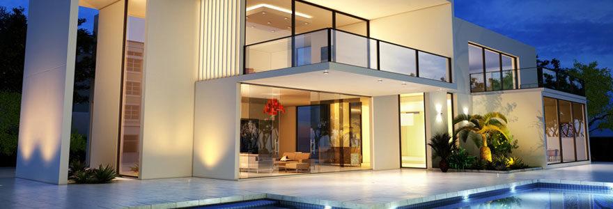 Les caractéristiques d'une maison moderne