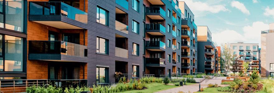 Investissement immobilier immeuble
